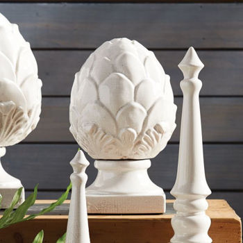 Picture of SMALL CONSERVATORY ARTICHOKE FINIAL