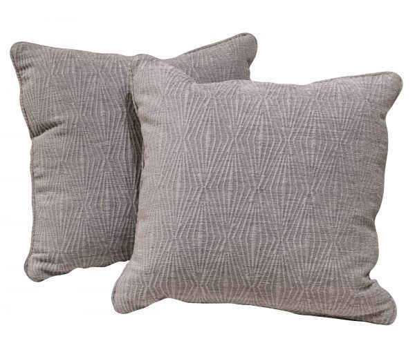 Picture of BASSETT GRAY ACCENT PILLOW PAIR