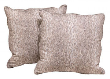 Picture of BASSETT BEIGE ACCENT PILLOW PAIR
