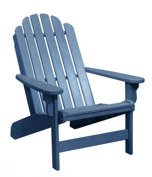 Picture of COLONIAL BLUE SHORELINE ADIRONDACK CHAIR