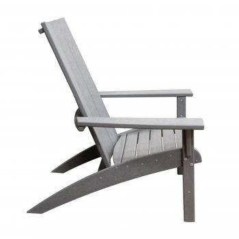 Picture of GRAY CONTEMPORARY ADIRONDACK CHAIR