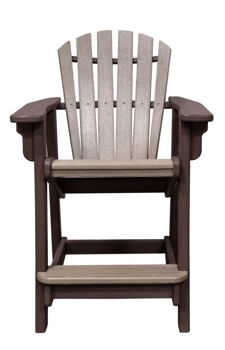 Picture of CHOCOLATE COASTAL COUNTER CHAIR