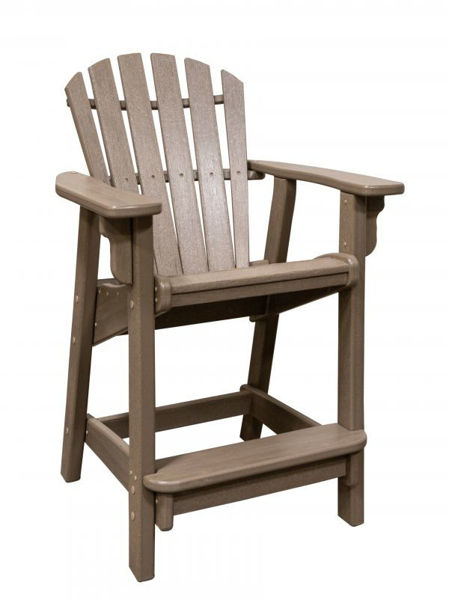 Picture of WEATHERWOOD COASTAL COUNTER CHAIR