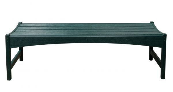 Picture of FOREST GREEN SKYLINE GARDEN BENCH
