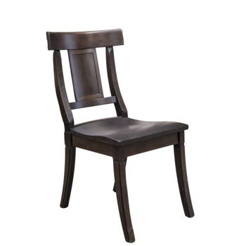 Picture of BASSETT BENCHMADE BAXTER MAPLE SIDE CHAIR