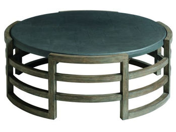 Picture of LA JOLLA ROUND OUTDOOR COCKTAIL TABLE