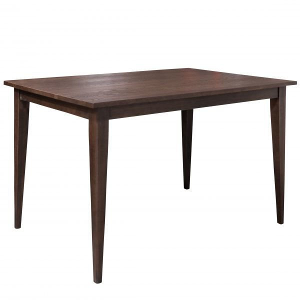 """Picture of BASSETT BENCHMADE CONROY 60""""OAK COUNTER TABLE"""