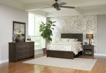 Picture of RUFF HEWN QUEEN STORAGE BED