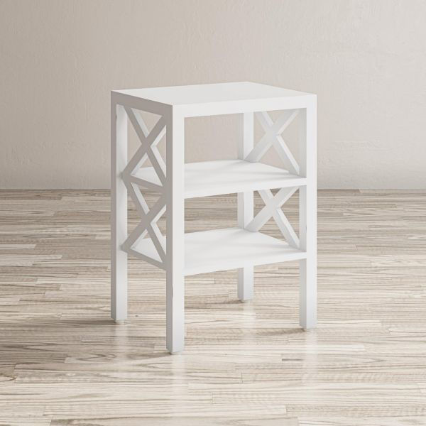Picture of WHITE DYLAN SIDE TABLE