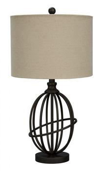 Picture of MANASA METAL TABLE LAMP