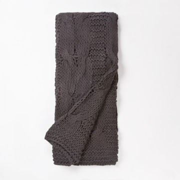 Picture of STEEL GREY MICAH THROW