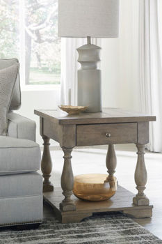 Picture of DONELSON RECTANGULAR END TABLE