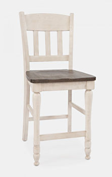 Picture of MADISON COUNTY SLATBACK COUNTER STOOL