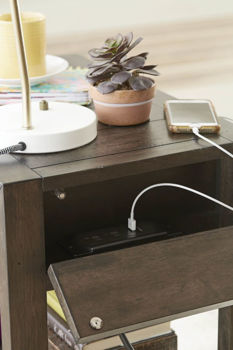 Picture of PORTMAN CHAIRSIDE TABLE