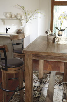 Picture of PINNADEL COUNTER BAR STOOL