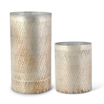 Picture of CHAMPAGNE GLASS VASE SET