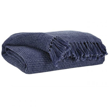 Picture of YASMIN NAVY THROW